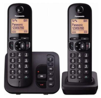 Panasonic KX-TGC222GB Telefon DECT-Telefon Schwarz Anrufer-Identifikation - Plug-Type C (EU)