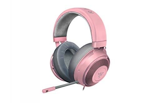 Razer Kraken quartz - Gaming Headset mit Kühlenden Gel-Ohrpolstern für Ambitionierte Gamer (pink) – Bild 1
