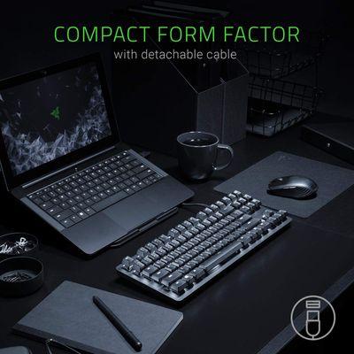Razer BlackWidow Lite - Silent Mechanical Gaming Keyboard with white LED Backlighting (UK Layout - QWERTY) – Bild 4