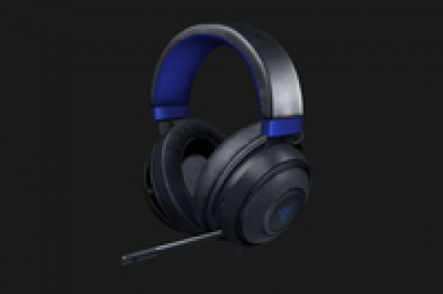 Razer Wired Gaming Headset Kraken for Console (Black × Blue) – Bild 1
