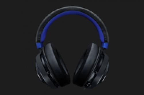 Razer Wired Gaming Headset Kraken for Console (Black × Blue) – Bild 2