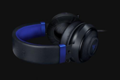 Razer Wired Gaming Headset Kraken for Console (Black × Blue) – Bild 3