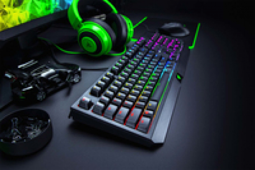 Razer Blackwidow Mechanische Gaming Tastatur mit Green Switches - RGB Chroma Beleuchtung (DEU Layout - QWERTZ) – Bild 3