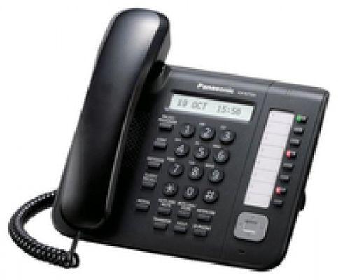 Panasonic KX-NT551 IP-Telefon Kabelgebundenes Mobilteil BLACK