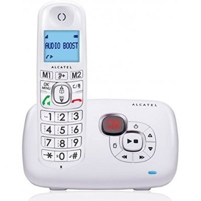 Alcatel XL385 Voice DECT-Telefon Weiu00df Anrufer-Identifikation - Plug-Type C (EU) – Bild 6