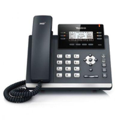 YEALINK SIP-T42G IP-Telefon Schwarz, Grau Kabelgebundenes Mobilteil LCD – Bild 1