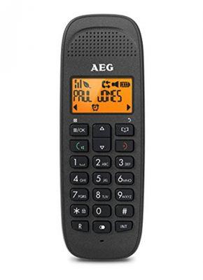 Aeg VOXTEL D81 DECT-Telefon Schwarz Anrufer-Identifikation - Plug-Type C (EU) – Bild 1