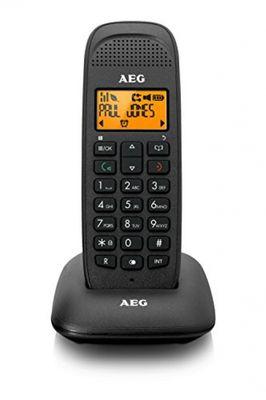 Aeg VOXTEL D81 DECT-Telefon Schwarz Anrufer-Identifikation - Plug-Type C (EU) – Bild 2