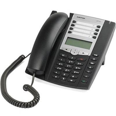 Mitel MiVoice 6730 Analoges Telefon Schwarz Anrufer-Identifikation