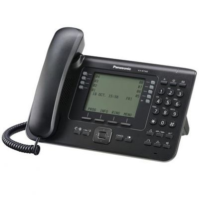 Panasonic KX-NT560 IP-Telefon Schwarz Kabelgebundenes Mobilteil LCD