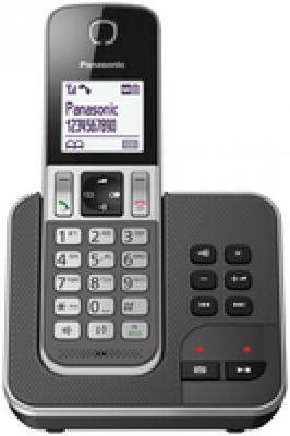 Panasonic KX-TGD320FRG Telefon DECT-Telefon Grau Anrufer-Identifikation