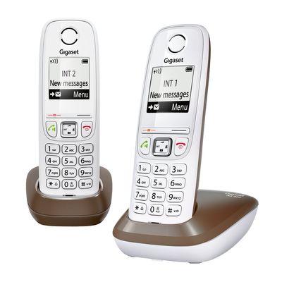 Gigaset AS405 DUO DECT, landline telephone WHITE/GREY