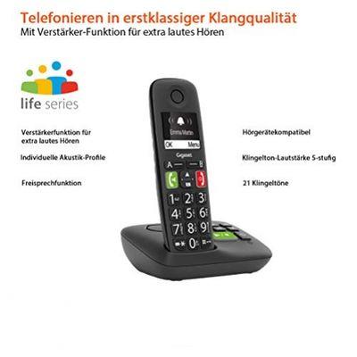 GIGASET S30852-H2921-B101 Telefon Analoges/DECT-Telefon Schwarz Anrufer-Identifikation – Bild 1