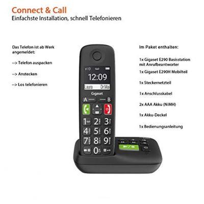 GIGASET S30852-H2921-B101 Telefon Analoges/DECT-Telefon Schwarz Anrufer-Identifikation – Bild 5