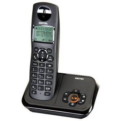 switel DET 10371 Tiger - cordless phone - answering system with caller ID - Plug-Type C (EU)