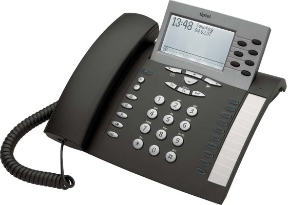Tiptel 85 Digital ISDN-Telefon anthrazit
