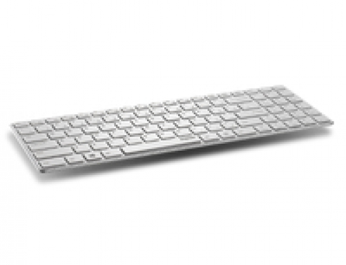 RAPOO E9110 Tastatur RF Wireless WHITE – Bild 1