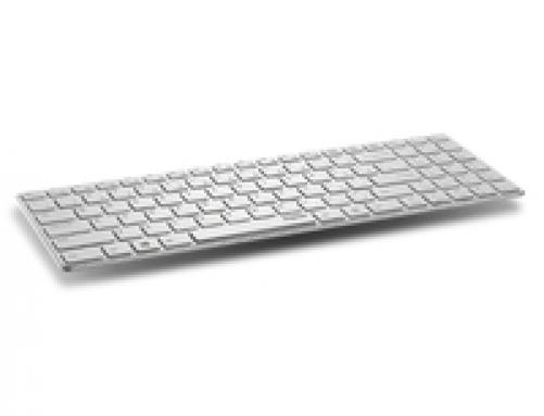 Rapoo E9110 Tastatur RF Wireless WHITE (DEU Layout - QWERTZ) – Bild 1