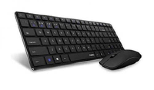 Rapoo 9300M Tastatur mit Maus kabelloses ultraflaches Multi-Mode-Deskset für Büro (DEU Layout - QWERTZ) – Bild 2