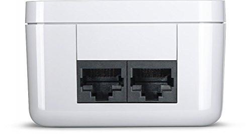 Devolo dLAN 1000 duo+ Starter Kit Powerline Sondermodell (bis zu 1000 Mbit/s Internet über die Steckdose, 2x LAN Ports, 2x Powerlan Adapter, integrierte Steckdose, PLC Netzwerkadapter) – Bild 1