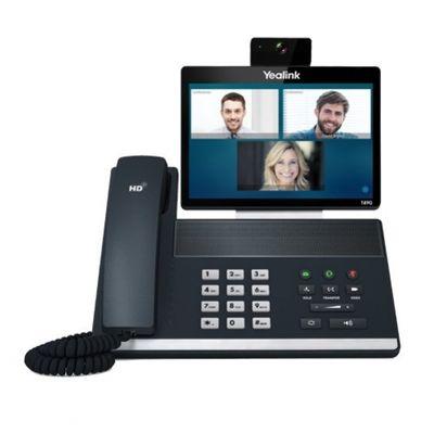 Yealink SIP VP-T49G IP-Telefon Schwarz Kabelgebundenes Mobilteil LCD WLAN – Bild 1