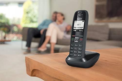 Gigaset AS405 DECT-Telefon Schwarz – Bild 2