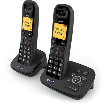 BT 1600 Cordless DECT Home Phone with Digital Answer Machine (Twin Handset Pack) – Bild 2