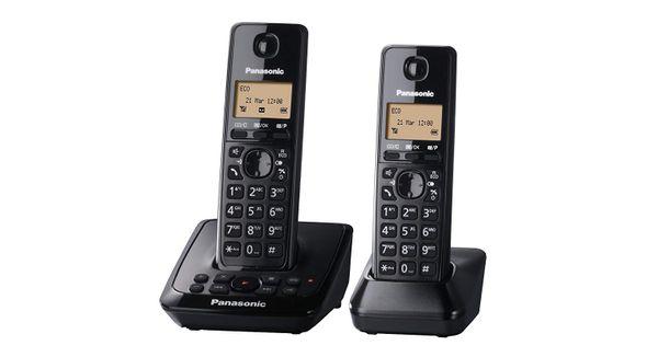 Panasonic KX-TG2722EB Twin DECT Cordless Telephone Set with Answer Machine – Bild 2