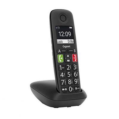 Gigaset E290 Duo 2 schnurlose-/ DECT-/ Analoge Telefone (ohne Anrufbeantworter, mit großen Tasten und großem Display) schwarz – Bild 3