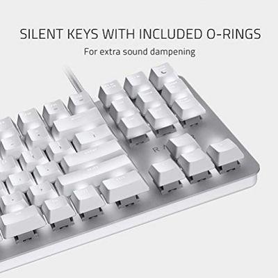 RAZER BlackWidow Lite Tastatur USB Weiß (USA Layout - QWERTY) – Bild 2