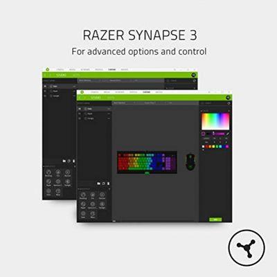 RAZER BlackWidow Lite Tastatur USB Weiß (USA Layout - QWERTY) – Bild 5