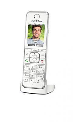 AVM FRITZ!Fon C6 DECT-Telefon Weiß Anrufer-Identifikation – Bild 1