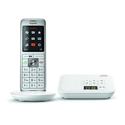 Gigaset CL660A Analoges Telefon Grau Anrufer-Identifikation WHITE