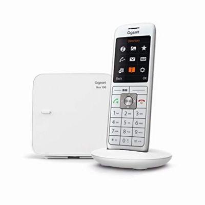 Gigaset CL660 Analoges/DECT-Telefon Weiß Anrufer-Identifikation – Bild 3