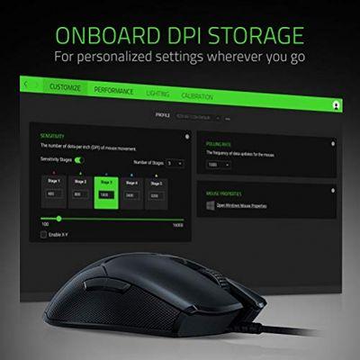 RAZER Viper Ultralight Ambidextrous Wired Gaming Mouse – Bild 5
