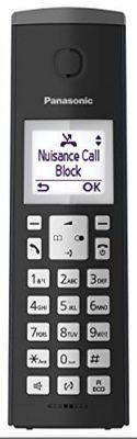 Panasonic KX-TGK220 DECT-Telefon Schwarz Anrufer-Identifikation – Bild 4