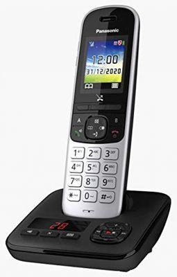 Panasonic KX-TGH720 DECT-Telefon Schwarz Anrufer-Identifikation – Bild 4