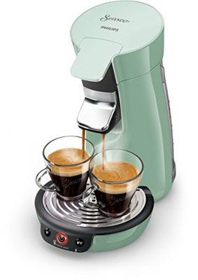 Philips Senseo Viva Cafe HD6563/10 Kaffeepadmaschine (Crema plus, Kaffee-Stärkeeinstellung) grün – Bild 2