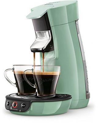 Philips Senseo Viva Cafe HD6563/10 Kaffeepadmaschine (Crema plus, Kaffee-Stärkeeinstellung) grün – Bild 5