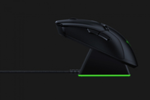 RAZER Viper Ultimate Wireless Gaming Maus (Ultraleicht, beidhändig, kabelgebunden mit optischen Sensor (16.000 Dpi) und den schnellsten Mausschaltern im Gamingbereich mit RGB Chroma Beleuchtung) – Bild 2