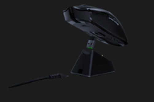 RAZER Viper Ultimate Wireless Gaming Maus (Ultraleicht, beidhändig, kabelgebunden mit optischen Sensor (16.000 Dpi) und den schnellsten Mausschaltern im Gamingbereich mit RGB Chroma Beleuchtung) – Bild 3