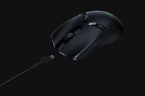 RAZER Viper Ultimate Wireless Gaming Maus (Ultraleicht, beidhändig, kabelgebunden mit optischen Sensor (16.000 Dpi) und den schnellsten Mausschaltern im Gamingbereich mit RGB Chroma Beleuchtung) – Bild 4