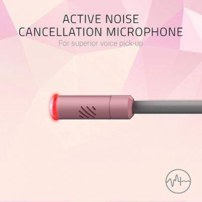 RAZER Kraken Kitty USB Gaming Headset mit Chroma Lighting Quartz Edition Pink – Bild 2