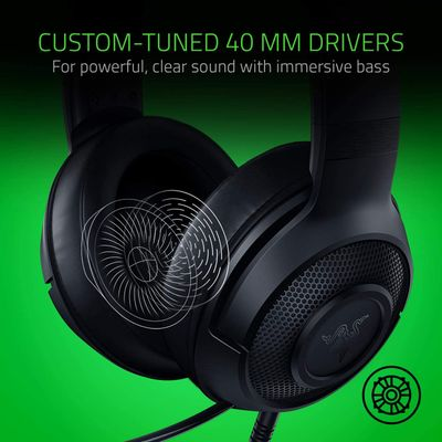 RAZER Kraken X Lite - Ultralight headband headphones for video games – Bild 2