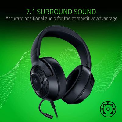 RAZER Kraken X Lite - Ultralight headband headphones for video games – Bild 3