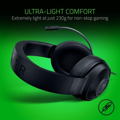 RAZER Kraken X Lite - Ultralight headband headphones for video games – Bild 5