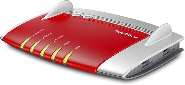 AVM FRITZ!Box 7490 WLAN AC + N Router (VDSL/ADSL, 1.300 Mbit/s (5 GHz), 450 Mbit/s (2,4 GHz), DECT-Basis, Media Server) (Generalüberholt) – Bild 4