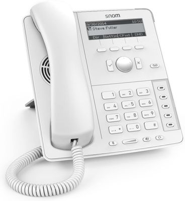 Snom D715 Analoges Telefon Anrufer-Identifikation WHITE – Bild 1