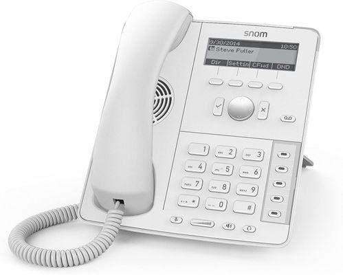 Snom D715 Analoges Telefon Anrufer-Identifikation WHITE – Bild 2