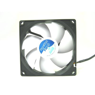 AAB Cooling Aab Cooling Super Silent 9 – Efficient And 92Mm Quiet Case Fan With 4 Anti Vibration Pads – Bild 1